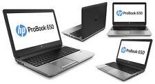 "HP Probook 650 15.6"" Laptop Core i5 4200m 2.5ghz 8gb 256GB SSD win 10 pro HDMI"