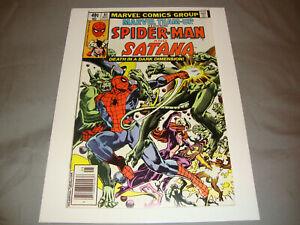 Marvel Team-Up #81 (May 1979) Bronze Age Comic Spider-Man & Satana VG+ Condition