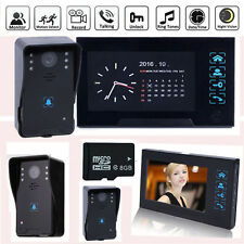 """7"""" HD Color Video Visual Door Phone Bell Doorbell Intercom Camera Night Vision"""