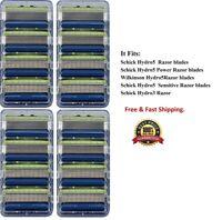 *16 Schick Hydro5 Razor 5 Blades fit Power Shaver Hydro Silk 3 Cartridge Refills