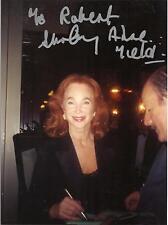 Shirley Anne Field signed 9 x 6 photo, COA, FREEPOST