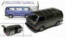 VW Bus T3 - Schabak Modell 1:43 - Syncro Caravelle - Grau-Metallic - NEU OVP