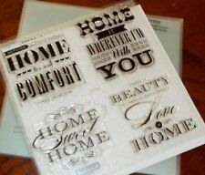 CTMH S1302 HOME SWEET HOME ~ HOME IS WHEREVER I'M WITH YOU