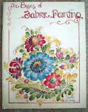 Basics of Fabric Painting instruction patterns decorative tole Jo Sonja Jansen