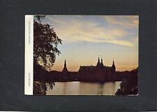 Postcard - view of Frederikborg, Denmark, C1970