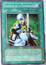 CARTE YU-GI-OH! SEIGNEUR DE LA SUPPRESSION -SD6-FR019