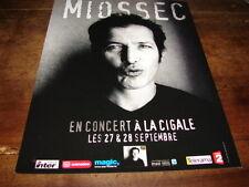 MIOSSEC - PUBLICITE CONCERT LA CIGALE !!!!!!!!!