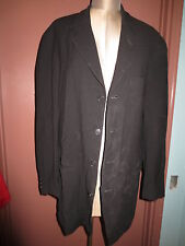 Donna Karan black lable lightweight wool mens 4 button blazer jacket sz M