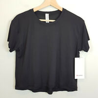 LULULEMON | Womens Black Train To Be Top Current NEW [ Size S or AU 10 / US 6 ]