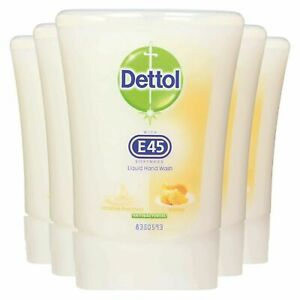 5 x Dettol No Touch Refill Hand Wash Honey  - UK Stock!!! BNIB