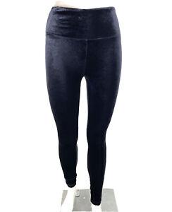Athleta Chaturanga Velvet Tight Leggings Black size M