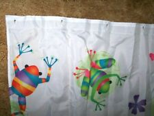 Pretty Frogs, Frogs & more Frogs Shower Curtain, Bright & Cheerful, Look!_ Euc
