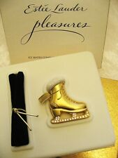 Estee Lauder ICE SKATES Solid Perfume Compact MINT in Both Boxes