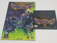 Insane Clown Posse - The Pendulum 1 Comic Book & CD set dark lotus twiztid icp