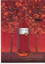 TURNING LEAF vineyards reserve 2005 print ad clipping cool art photo picnic tree
