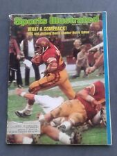 Anthony Davis Usc Sports Illustrated December 9, 1974 Great Condition