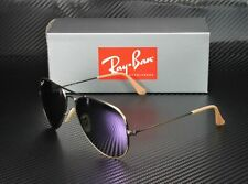 RAY BAN RB3025 167 1R Aviator Brze Ds Grey Lilac Polarized 58 mm Mens Sunglasses