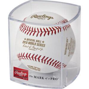 Boston Red Sox 2018 MLB World Series Champions Logo Baseball