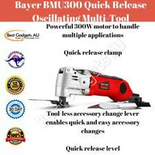 Bayer BMU300 Quick Release Oscillating Multi-Tool Power Tools Lightweight DIY