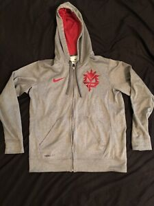 RARE NIKE MANNY PACQUIAO THERMA FIT ZIP UP MEN'S HOODIE JACKET SIZE MEDIUM