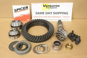 Jeep Wrangler Dana 30 Front Ring and Pinion 4.56 Ratio Standard Cut 2001-2006