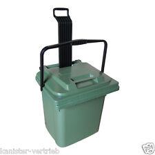 SULO Mülltonne Abfalltonne Müllbox Mülltrennung Restmüll 45 Liter grün NEUWARE