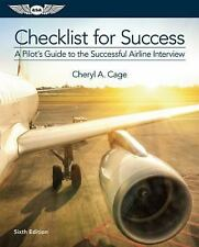 CHECKLIST FOR SUCCESS - CAGE, CHERYL A. - NEW PAPERBACK BOOK