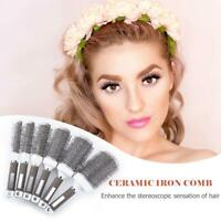 Professional Salon Hair Dressing Brush Round Comb Hair Care Ribs Comb Hairbrush