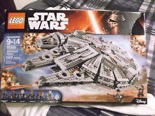 LEGO Star Wars Millennium Falcon Starship 75105 Force Awakens Building Toy Set