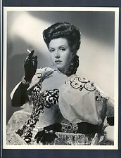 EXQUISITE ANN MILLER SMOKING A CIGARETTE 1945 NEAR MINT PHOTO BY WALTERS- DAME