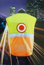 LED Flashing Safety Vest Ideal For Runners, Cyclists, Riders and Walkers