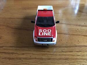 Soo Line , Railroad Maintenance Dept. Pickup Truck. Limited Edition