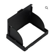 "3"" Zoll LCD Kamera Bildschirmabschattung Sonnenschutz Display Monitor schwarz"