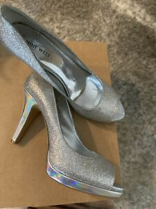 Nine West Danee Silver Synthetic