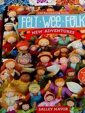 Felt wee folk craft book