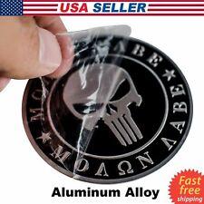 3D Metal Dont Tread On Me Sticker Molon Labe Decal Emblem Nra 2nd Amendment