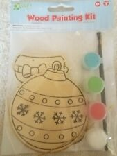 Wood Painting Kit Christmas upc 037015739533