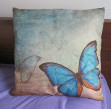 Blue Butterfly Cushion, NEW without tags, MINT Excellent Beautiful, John Lewis