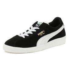 PUMA Mens Trainers Te-ku Prime Black Suede Sport Casual Lace Up Shoes