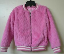 Toddler Girls Design History Faux Fur Pink Jacket Size:4T Excellent condition