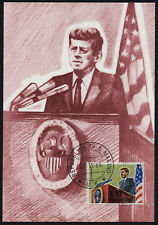San Marino 607 on Maxi Card - John F. Kennedy