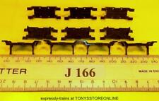 j166 jouef original spares 10x plastic chassis axle fixings application unknown