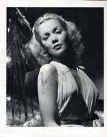 Jane Wyman Hand Signed Jsa Coa  8x10 Photo Authenticated Autograph