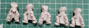 Fallen Knights Mark3 Armour (Can use as Proxy MKIII Armour True Scale bodys)