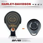 Leather Key fob Holder Case Cover KEY RING  FIT Fo Harley Davidson Motorcycles