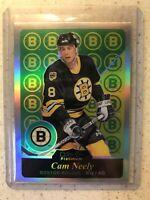 2015-16 O Pee Chee Platinum Retro Rainbow Cam Neely Card# R17 Boston Bruins