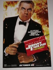 JOHNNY ENGLISH REBORN - Movie Poster - Flyer - 11x17 - ROWAN ATKINSON