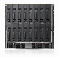 HP BladeSystem c7000 Enclosure + 6 Power + 10 Fans + 2 OA + Cisco 3020 + GbE2c