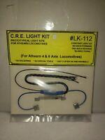 Details about  /HO C.R.E Constant Light Kit #LK-244D Athearn 4 axle locomotives vintage rare