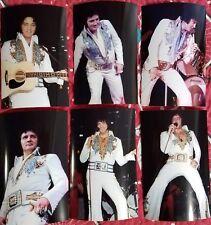 Elvis Presley 11 Photo Set in KING OF SPADES Jumpsuit (1976) & FREE CD!  NEW!!!